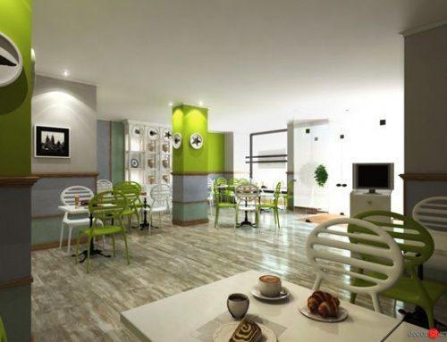 Proyecto de interiorismo del restaurante, La Terraza de Salud.