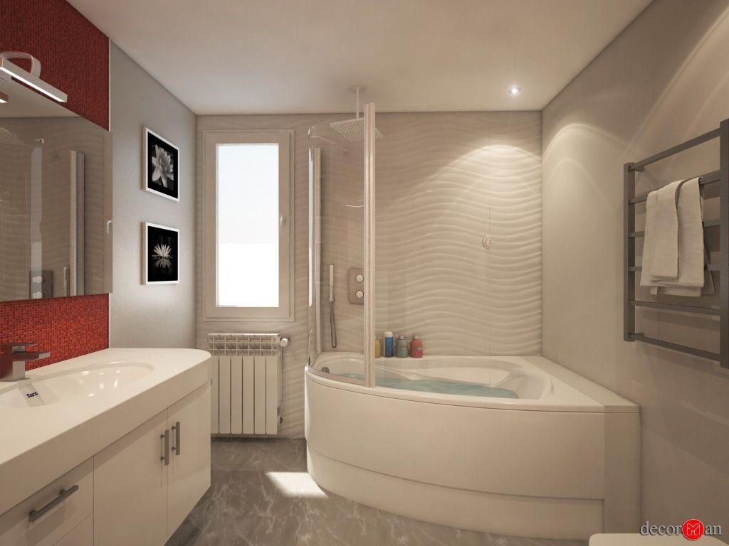 Diseno De Baño Principal:Decorman Diseño de interiores Diseño 3D de baños en las rozas