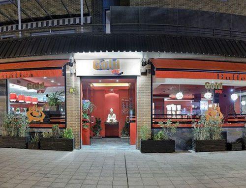 Reforma del restaurante Gold Wok Buffet