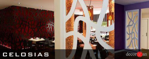 Reformas Decorman, celosias decorativas,diseño de interiores