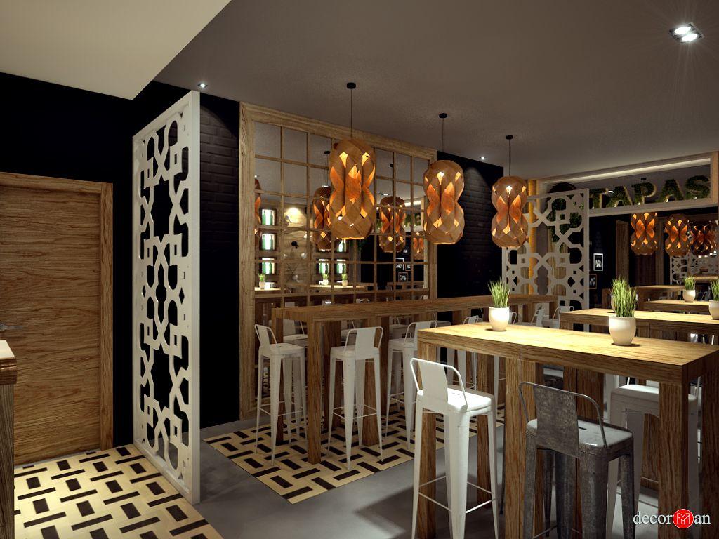Diseño de interiores -Iluminación con lámparas artesanales de diseño ...