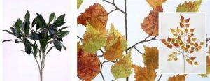 Decorar con arboles y plantas artificiales