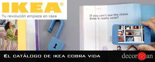 El catálogo de ikea cobra vida
