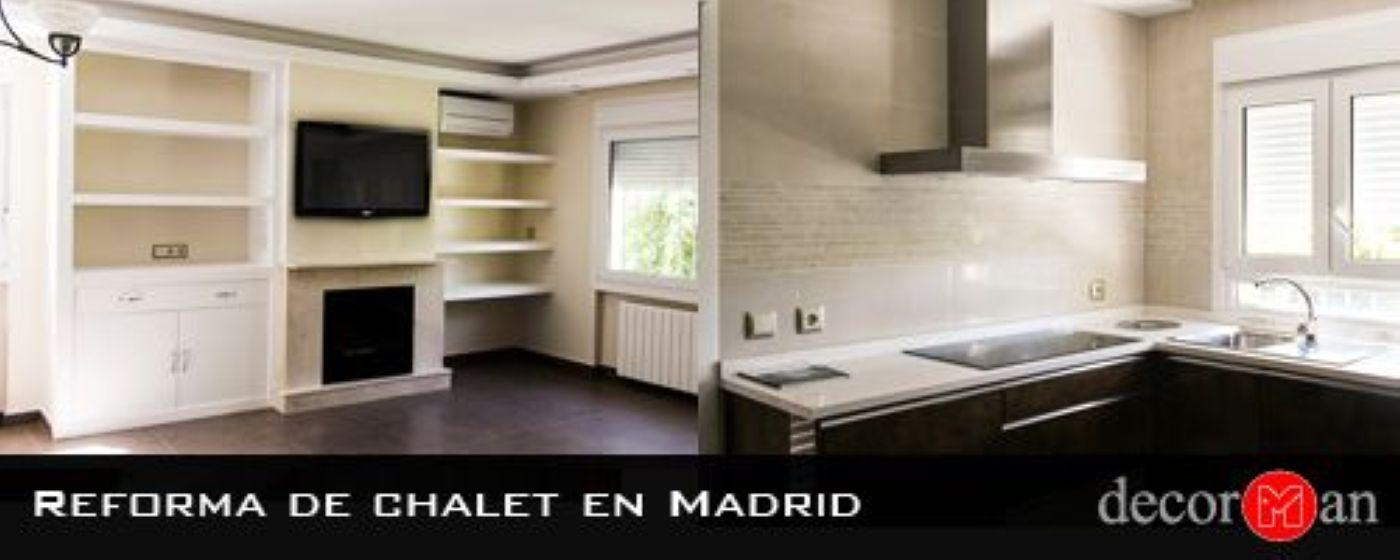 Reforma integral de chalet en Madrid