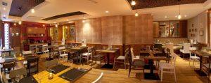 Decoración del restaurante Vivares en Madrid