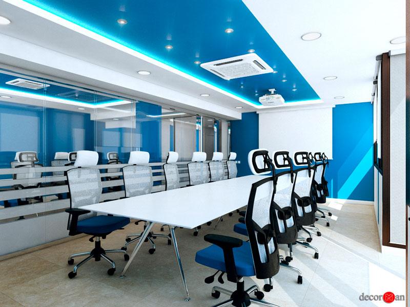 distribución de espacios en oficinas