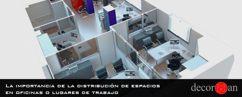 La importancia de la distribución de espacios en oficinas o lugares de trabajo