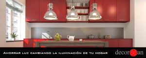 Ahorrar luz cambiando la iluminación de tu hogar