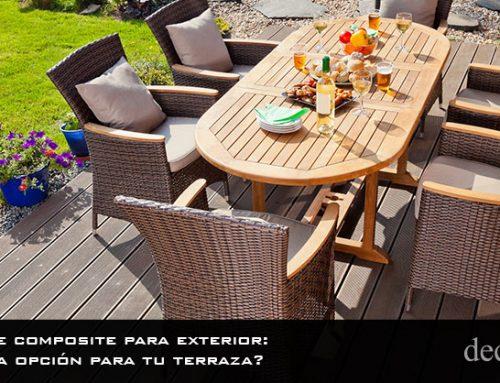 Suelos de composite para exterior: ¿Es buena opción para tu terraza?