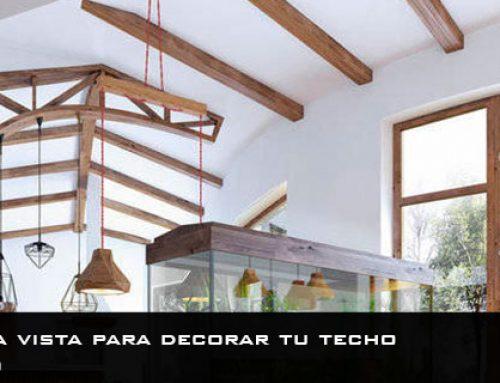 Vigas de madera vista para decorar tu techo | Un aire rústico