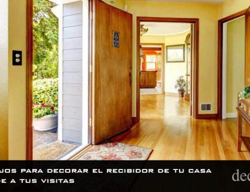 10 consejos para decorar el recibidor de tu casa | Sorprende a tus visitas