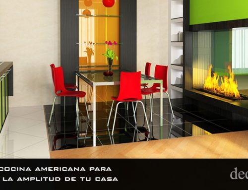 Instalar cocina americana para aumentar la amplitud de tu casa