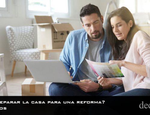¿Cómo preparar la casa para una reforma? | 7 Consejos