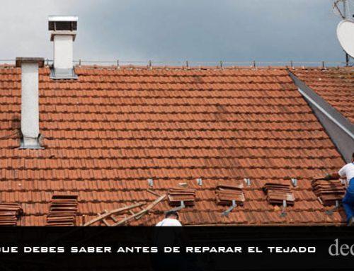 Todo lo que debes saber antes de reparar el tejado
