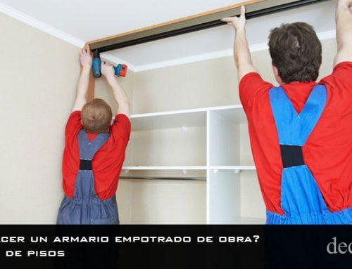 ¿Cómo hacer un armario empotrado de obra? | Reformas de pisos