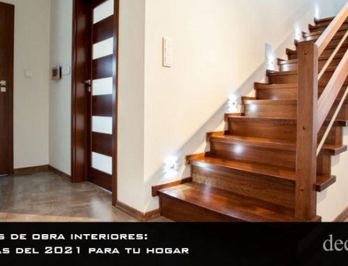 Escaleras de obra interiores: tendencias del 2021 para tu hogar