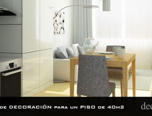 8 claves de decoración para un piso de 40 m2
