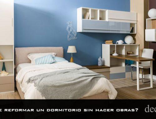 ¿Se puede reformar un dormitorio sin hacer obras?